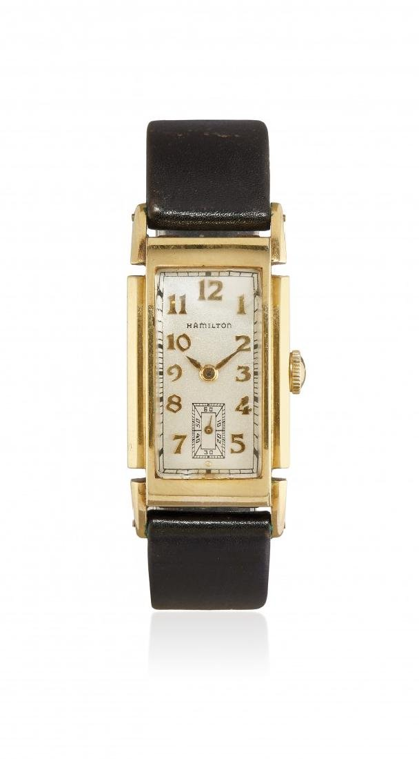 GENTLEMAN'S WRISTWATCH HAMILTON, '30S