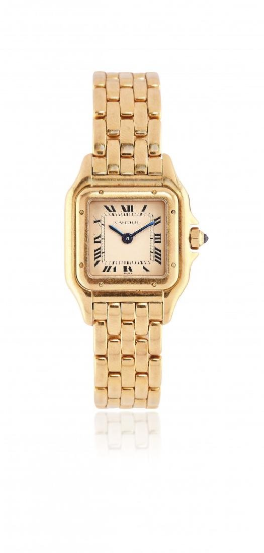 LADIES GOLD WRISTWATCH CARTIER PANTHÈRE, '80S