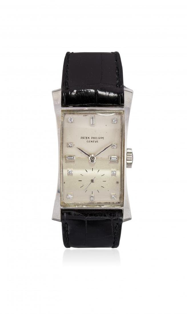 GENTLMEN'SPLATINUM  WRISTWATCH PATEK PHILIPPE REF.