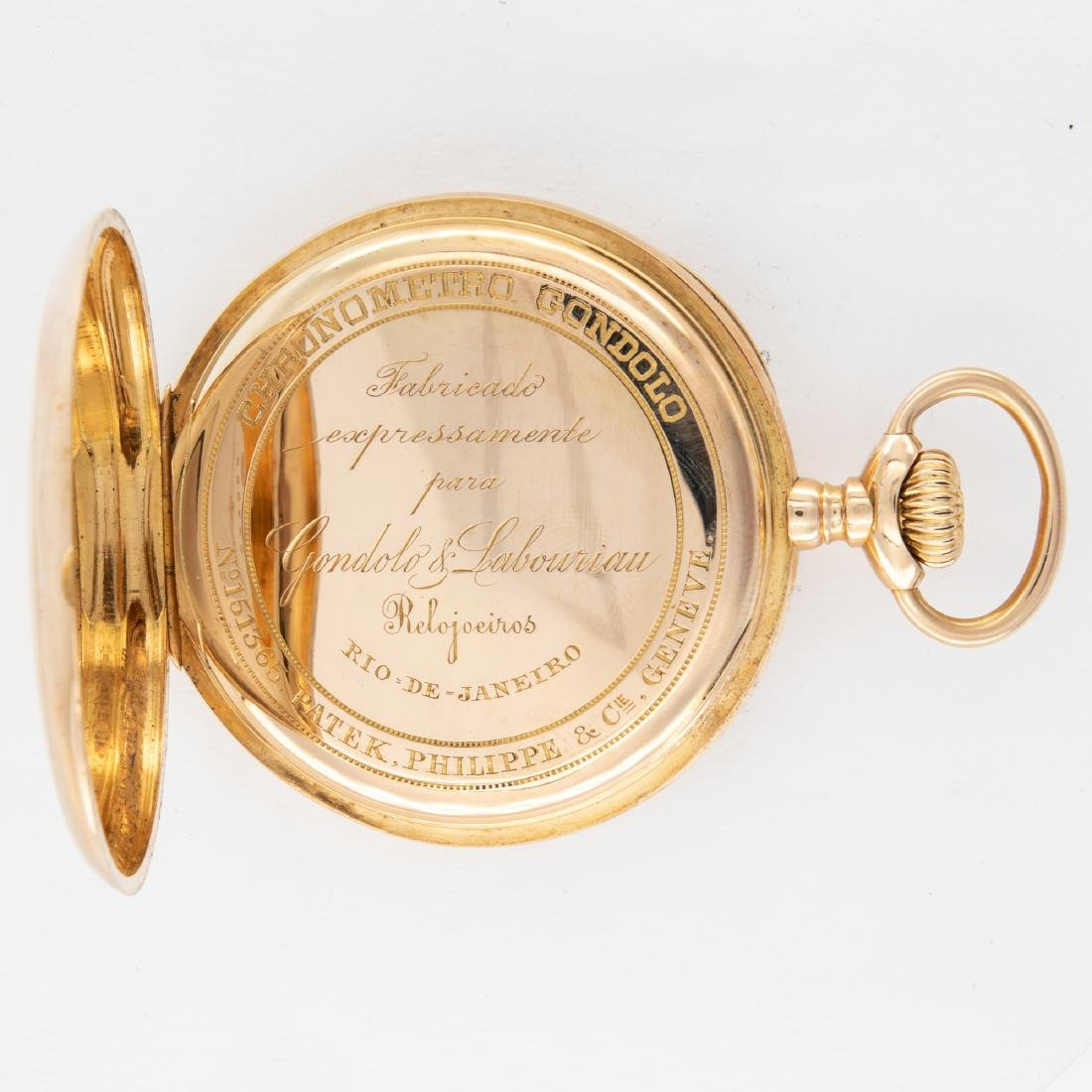 GOLD PATEK PHILIPPE POCKET WATCH, CIRCA1905 - 2
