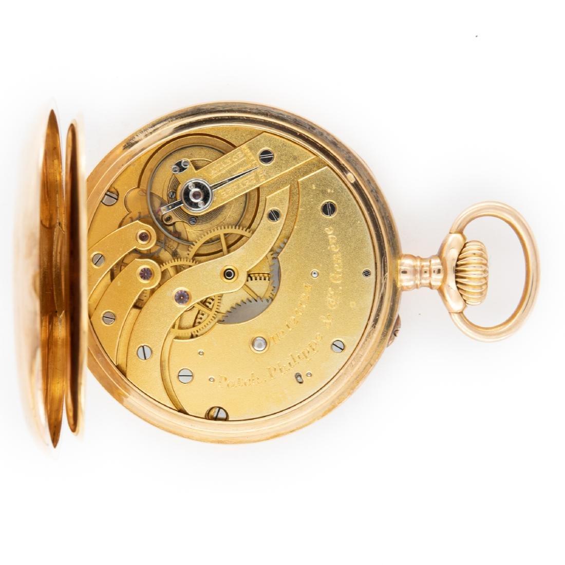 GOLD PATEK PHILIPPE POCKET WATCH, CIRCA1905 - 4