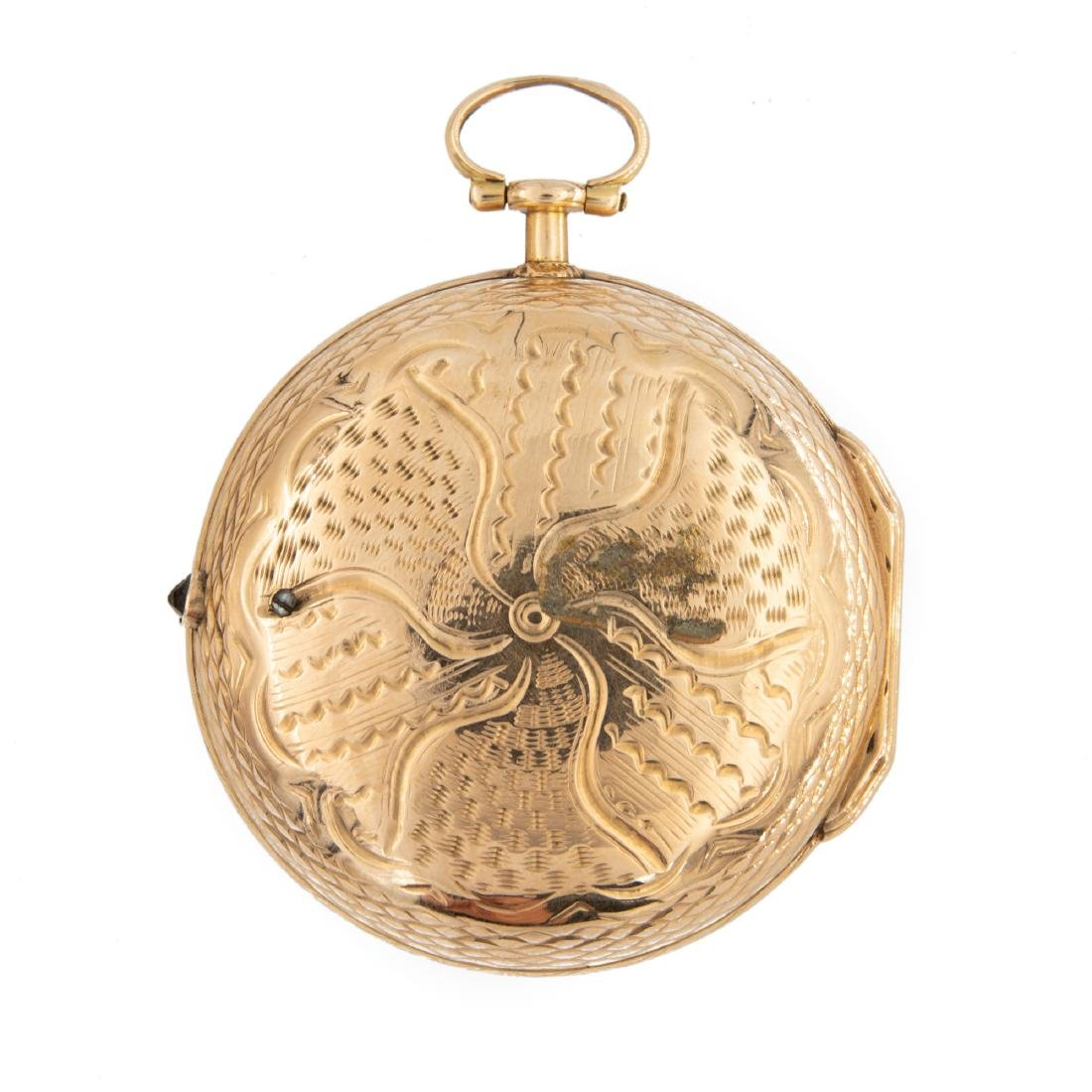 ROSE GOLD POCKET WATCH SIGNED MELLY, LOUIS XVI - 3