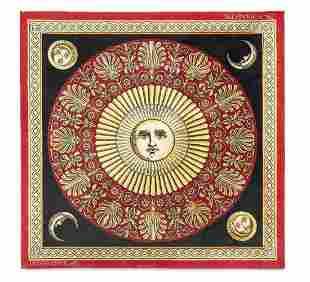 BARNABA FORNASETTI 1950 Carpet, Louis de Poortere on