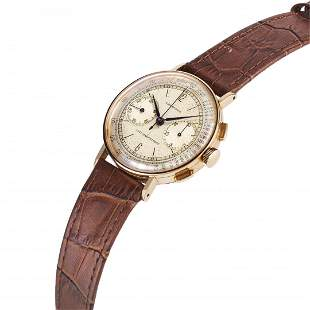 ROSE GOLD LONGINES FLYBACK CHRONOGRAPH 13ZN REF. 5086,