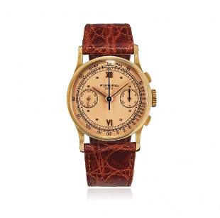 ROSE GOLD PATEK PHILIPPE CHRONOGRAPH REF. 533, SOLD IN