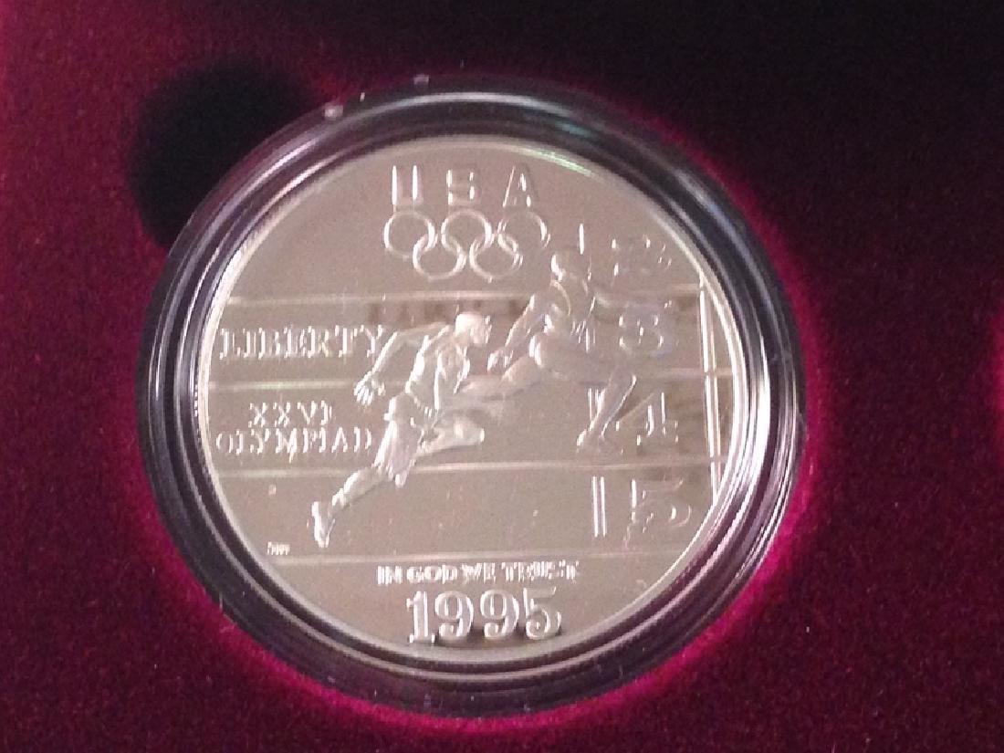 1995 Four Coin Proof Set W/COA - 2