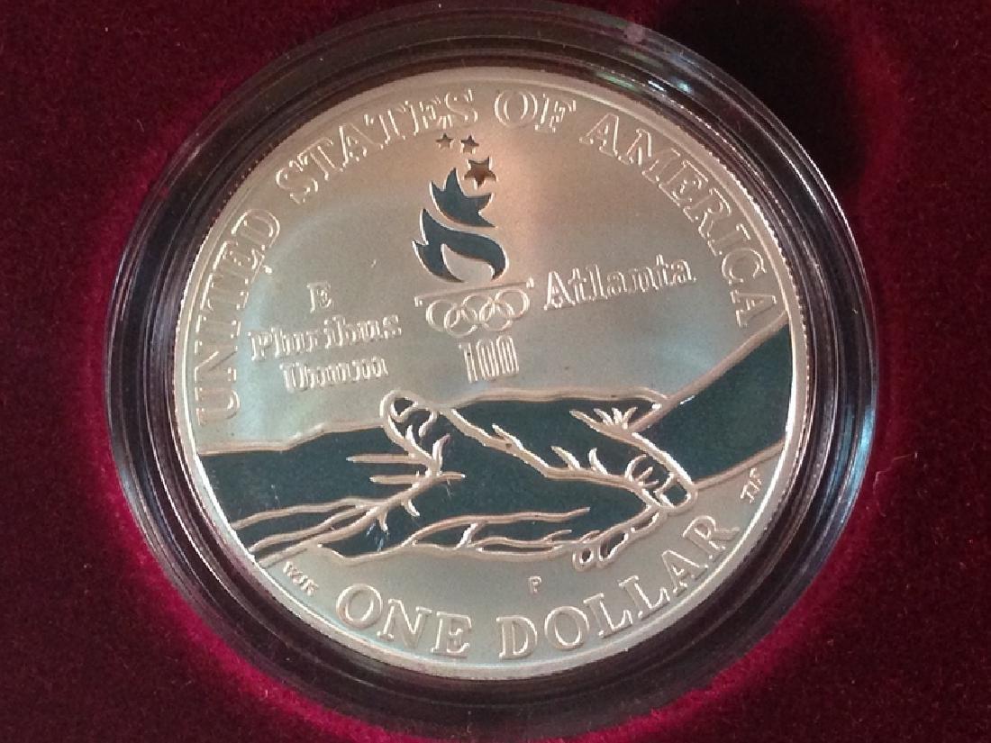 1995 Four Coin Proof Set W/COA - 4