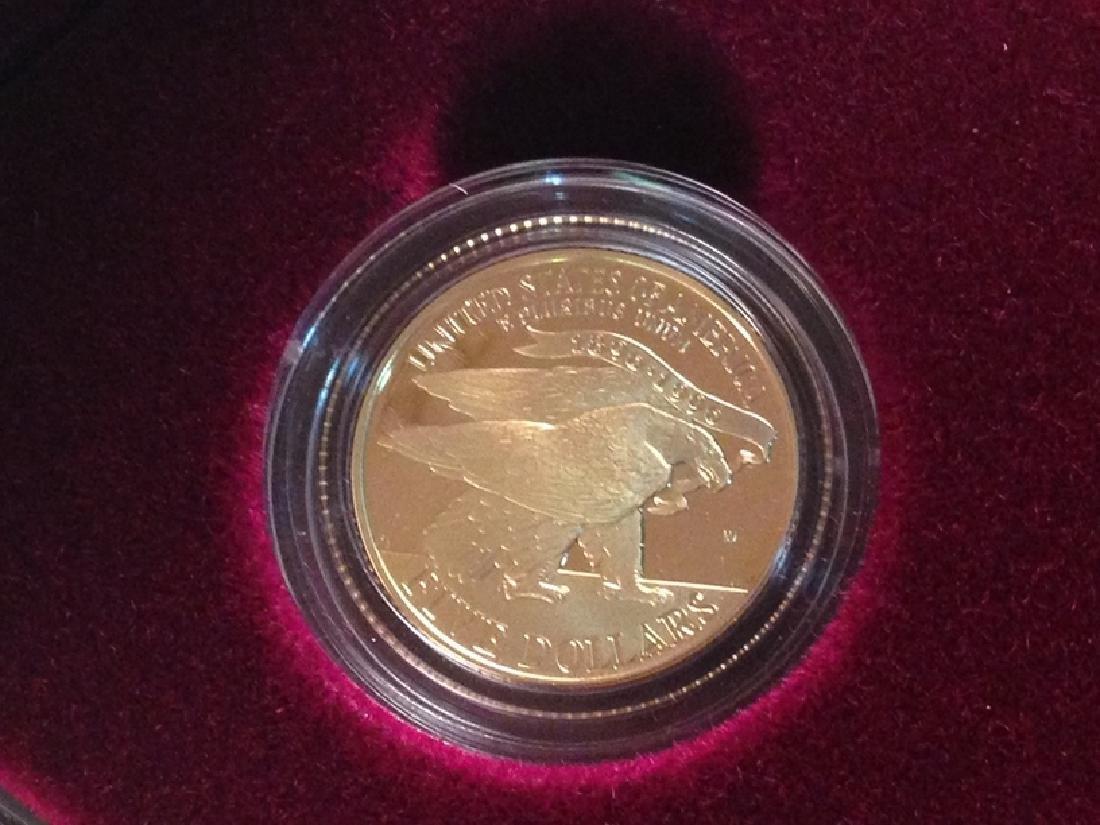 1995 Four Coin Proof Set W/COA - 5