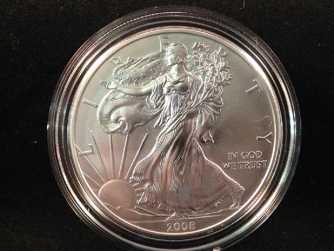 2008 Silver Eagle Burnished