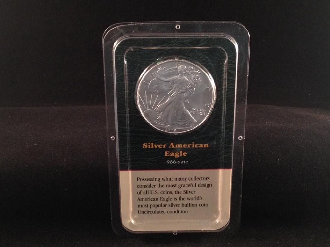 1999 American Silver Eagle UNC Sealed