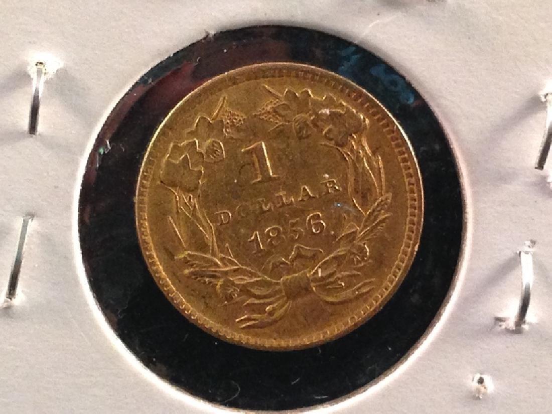 1856 Indian Head Princess Gold $1 - 3