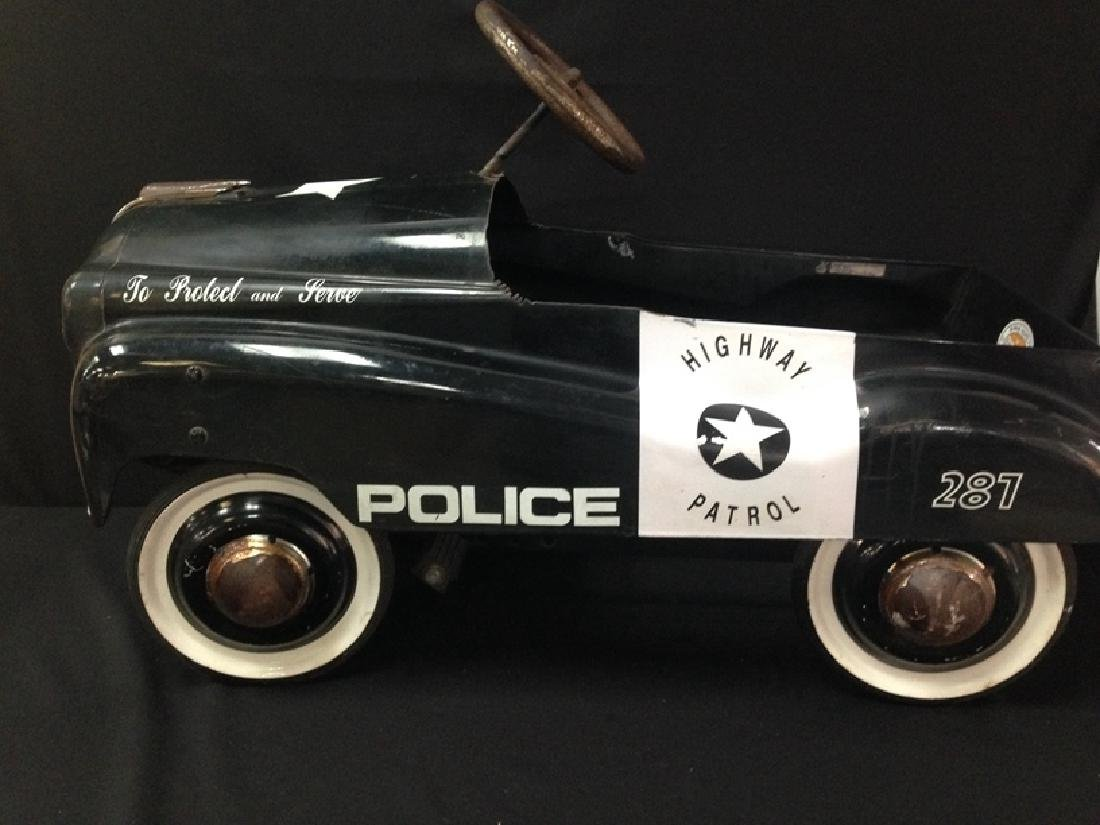 Police Pedal Car Burns Novelty Company