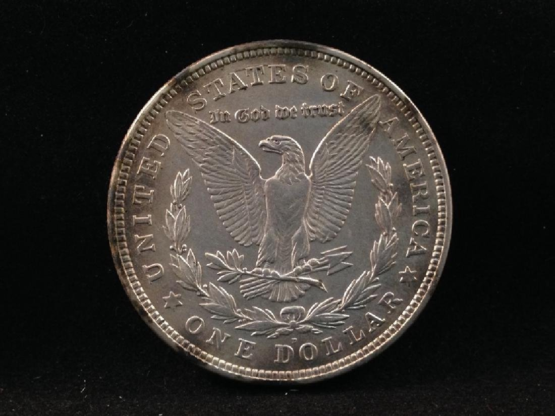 Lot of (2) 1921 Morgan Silver Dollars - 5