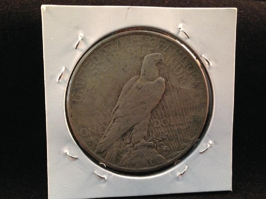 1934 S Peace Silver Dollar Better Date/Mint Coin - 2