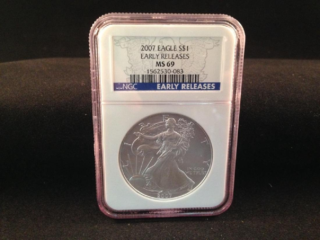 2007 Eagle Early Releases MS 69