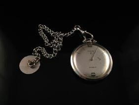 Vintage ELGIN 19j Open Face 10K GF Pocket Watch.