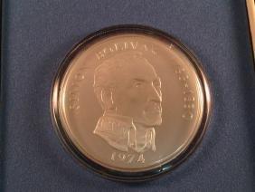 1974 Panama 20 Balboas Coin