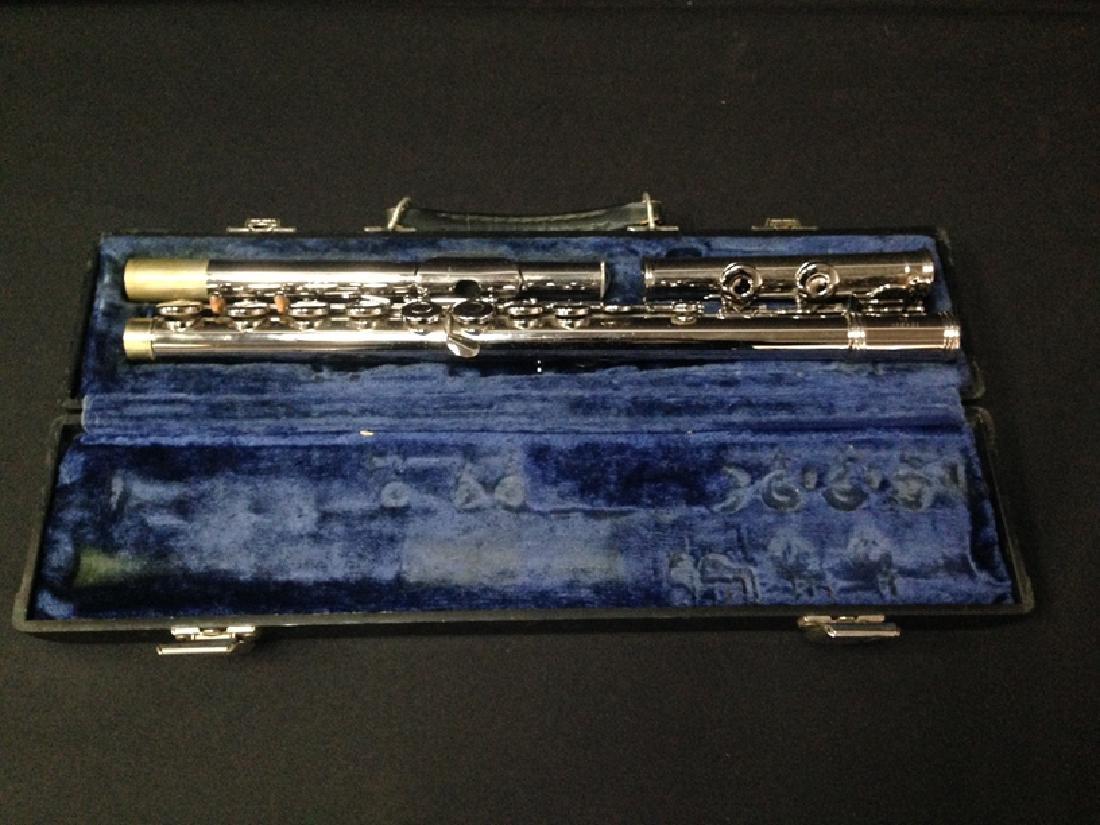 Vintage Gemeinhart Elkhart M2 Flute with Case.