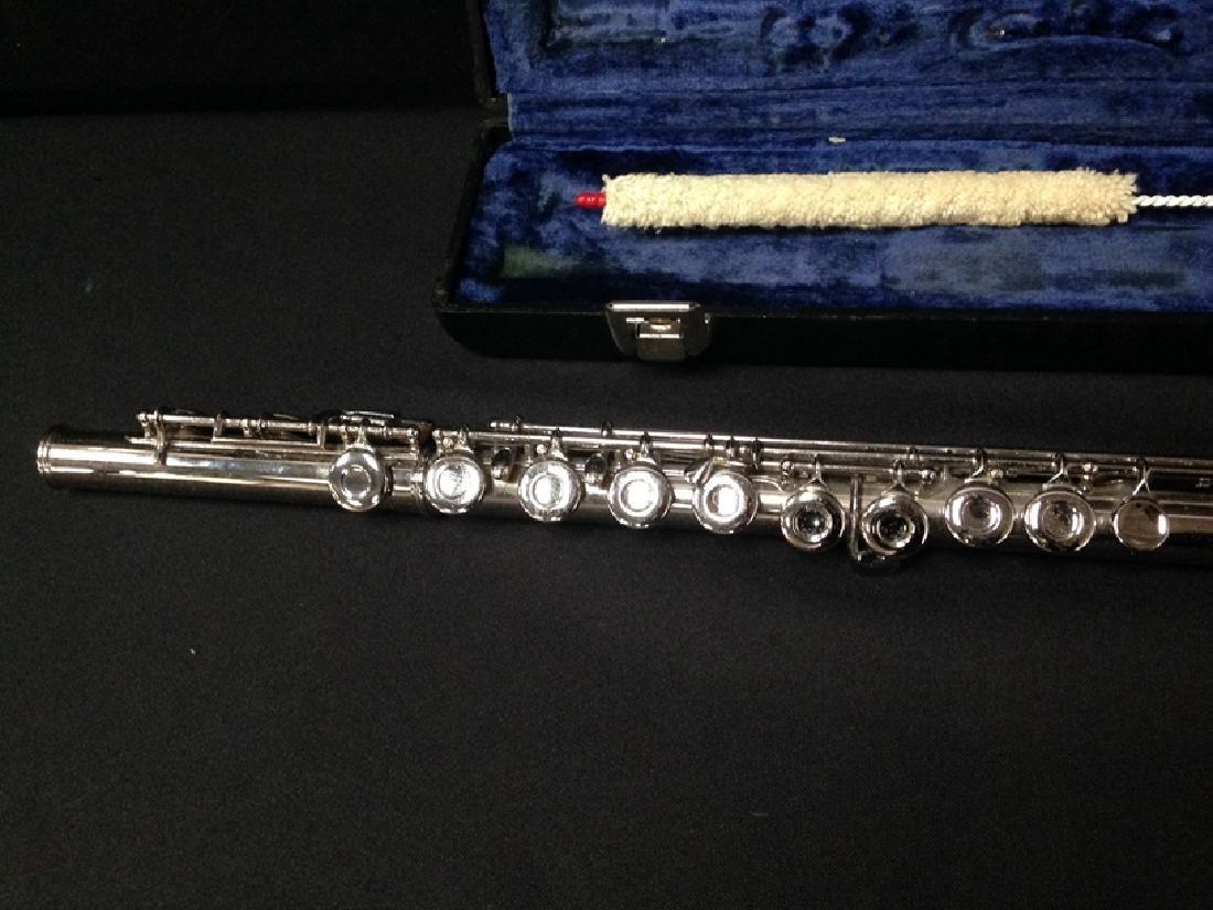 Vintage Gemeinhart Elkhart M2 Flute with Case. - 4