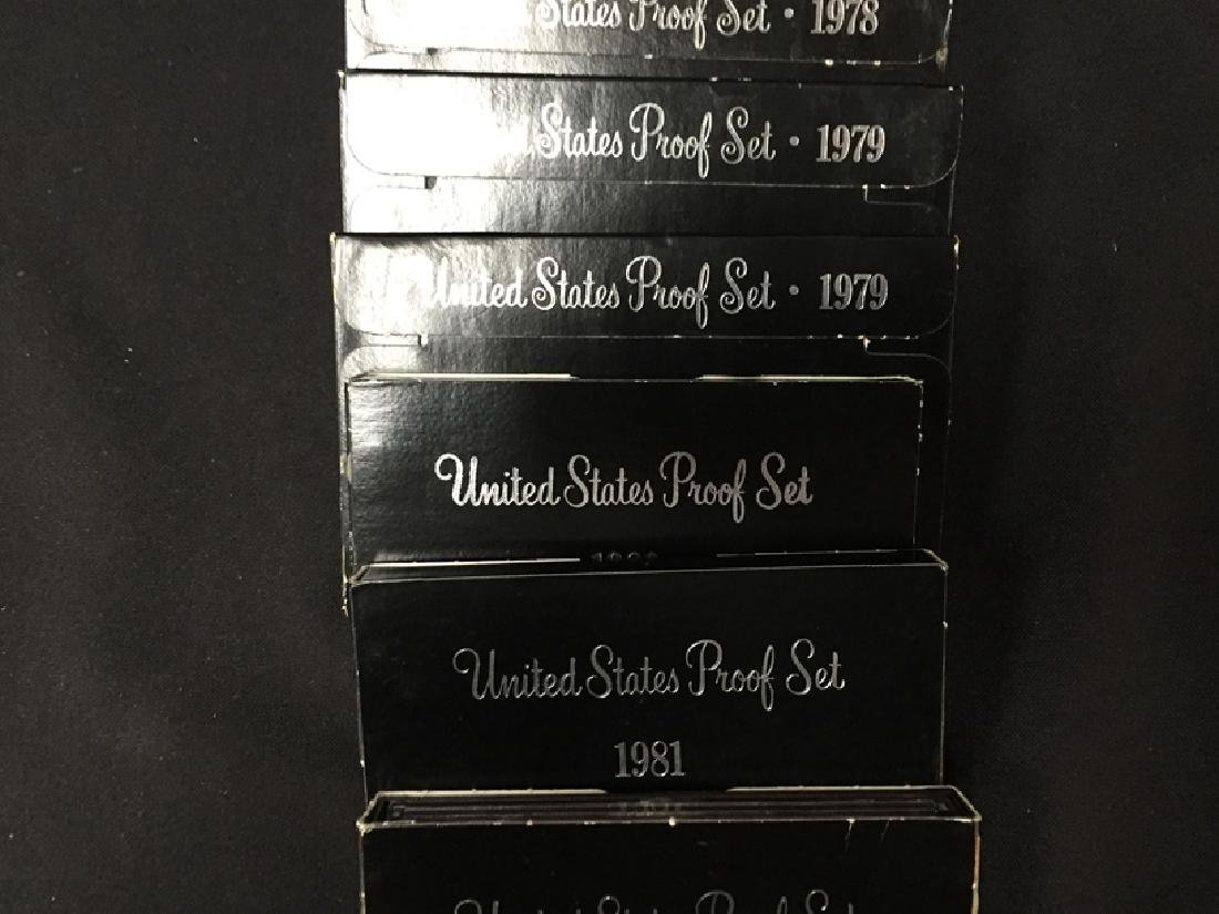 Lot of (12) United States Proof Sets - 3