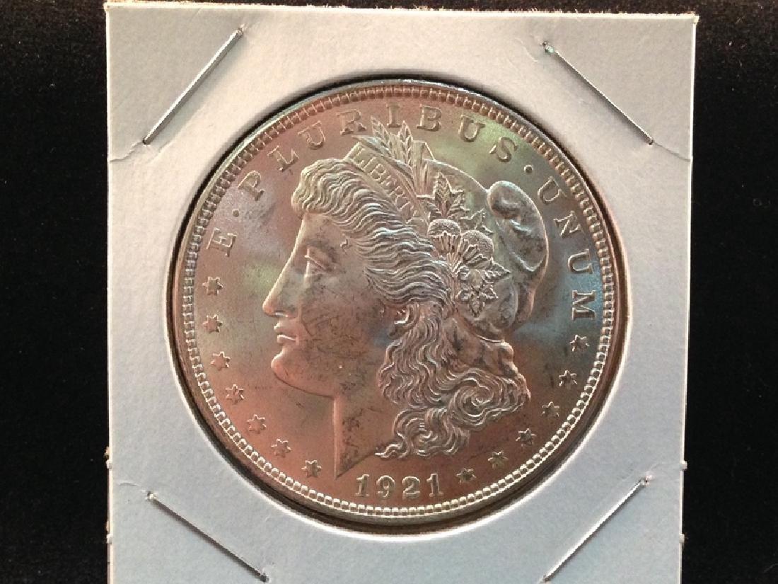 1921 Morgan Silver Dollar -Nice Luster