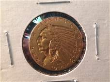 1914 S Indian Head $5 Gold Coin Better Date