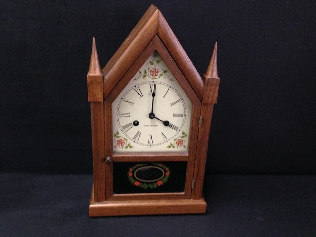 Vintge SETH THOMAS Cathedral Mantle Clock.