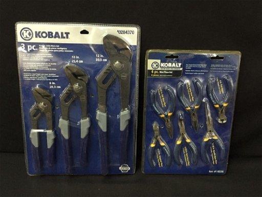 Brilliant 2 New Kobalt Pliers Sets Adjustable More Machost Co Dining Chair Design Ideas Machostcouk
