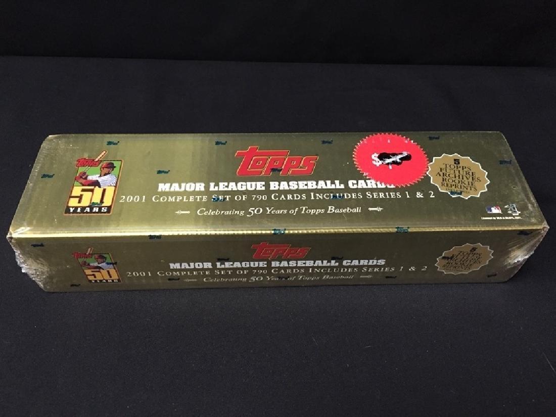 New 2001 Topps 50 Year Gold Baseball 790 Card Set