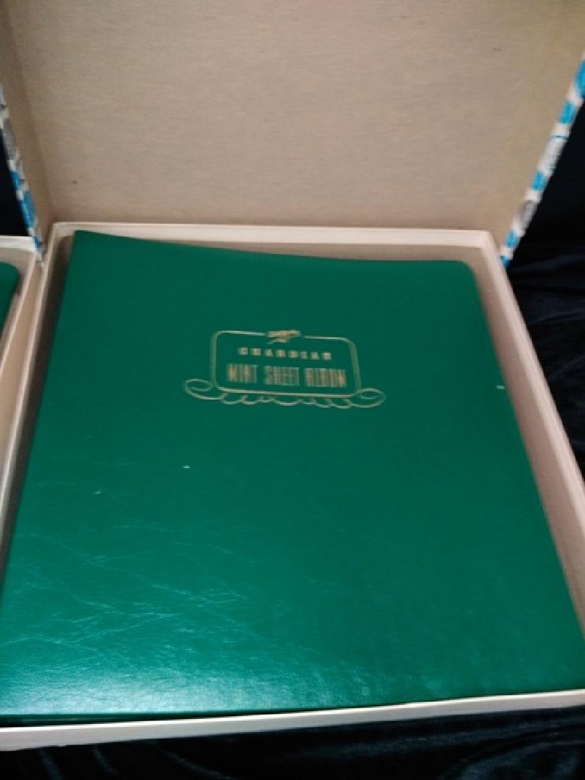 Lot of (2) White Sheet Guardian Mint Stamp Albums - 3