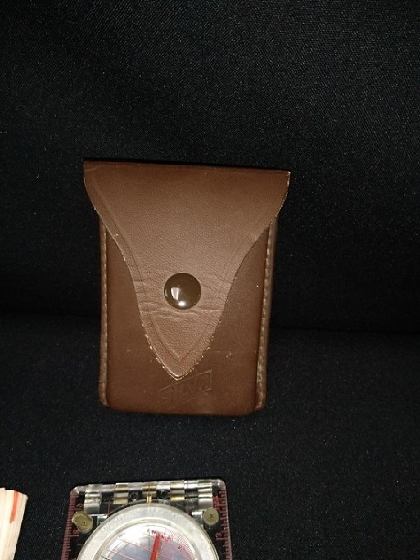 Silver Compass 15 T The Ranger With Leather Case - 3
