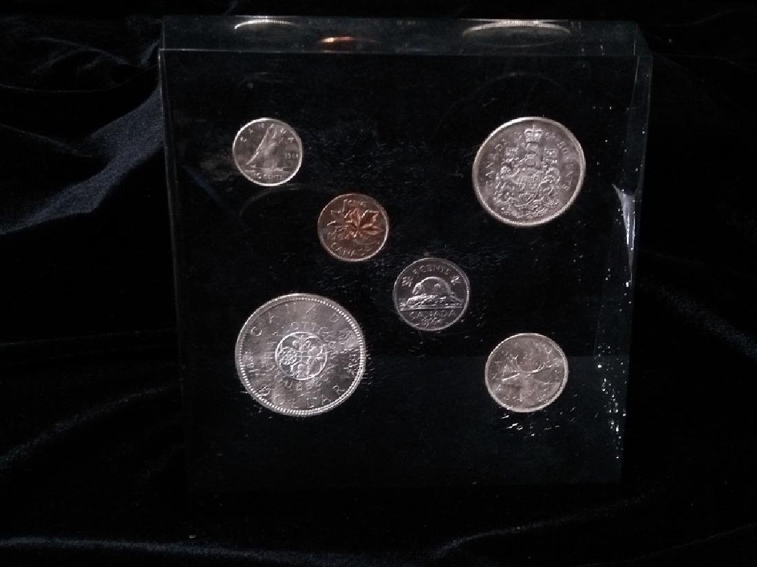 Canadian Proof Set Paper Weight 1964 - 3