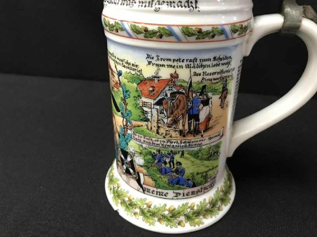 Kaiser Lithophane Beer Stein W. Germany - 3