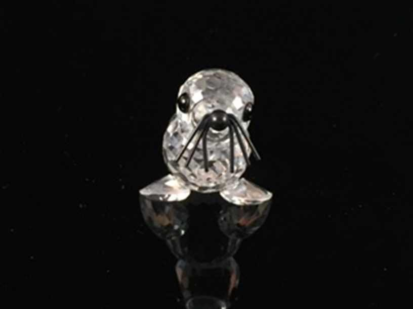Swarovski Crystal Figurine baby Sea Lion 7663 N46 - 3