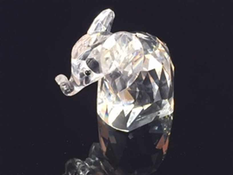 Swarovski Crystal Figurine Elephant 7640 05 - 7