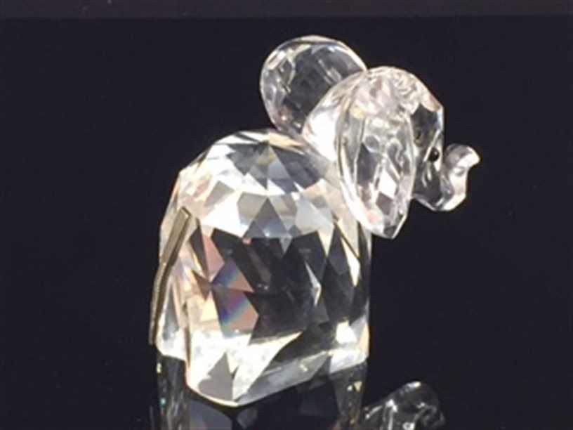 Swarovski Crystal Figurine Elephant 7640 05 - 2