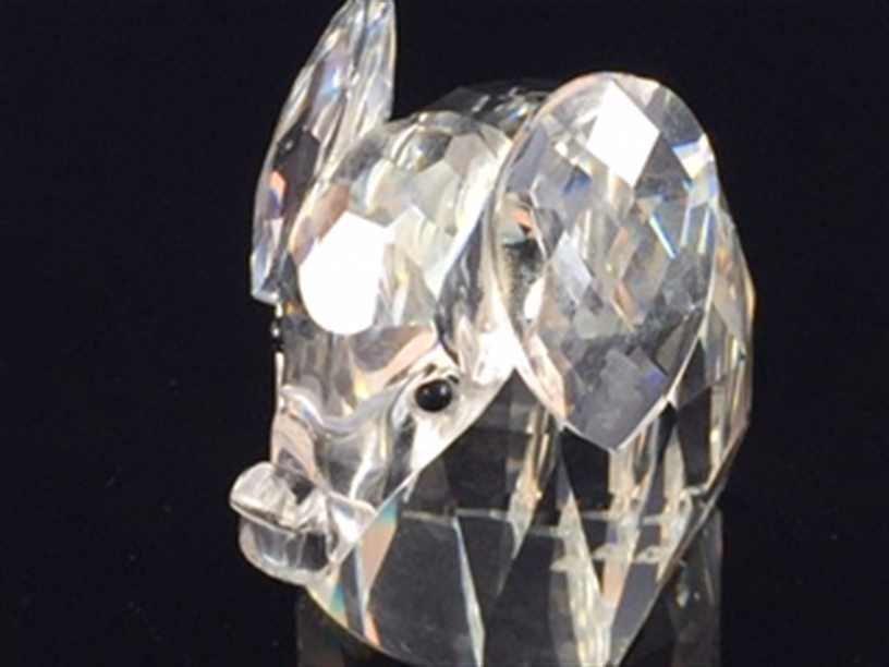Swarovski Crystal Figurine Elephant 7640 05 - 3
