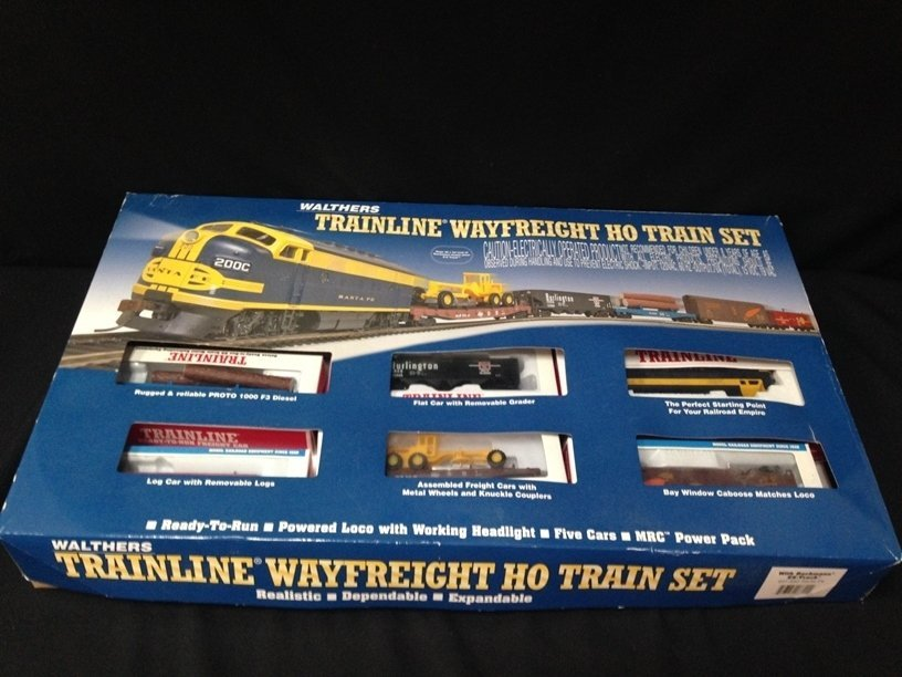 Walthers Trainline Wayfreight HO Train Set In Box
