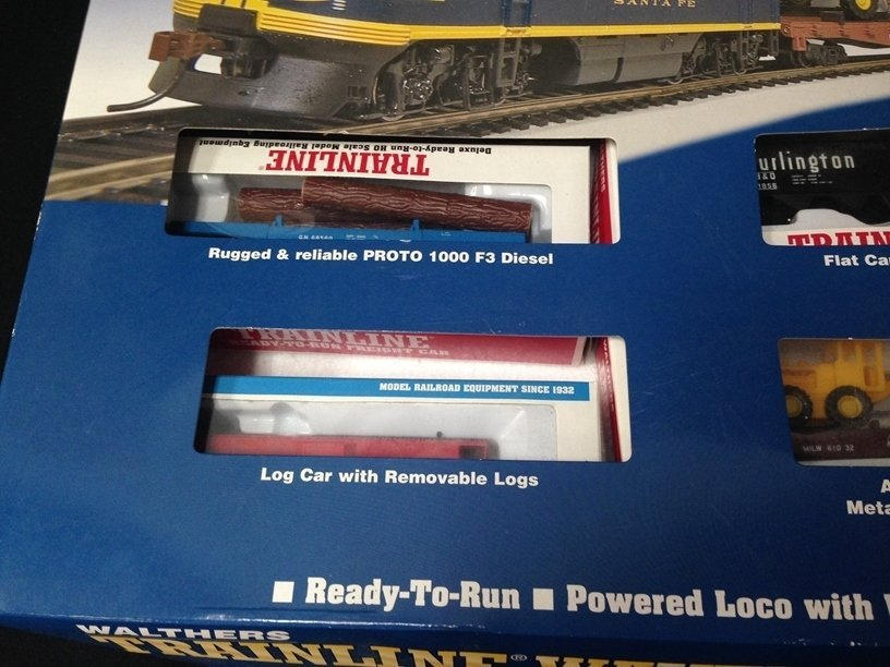 Walthers Trainline Wayfreight HO Train Set In Box - 2