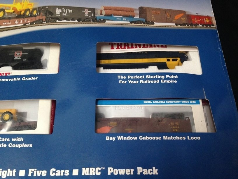 Walthers Trainline Wayfreight HO Train Set In Box - 4