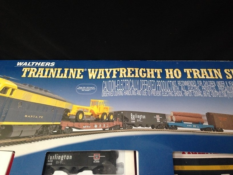 Walthers Trainline Wayfreight HO Train Set In Box - 5