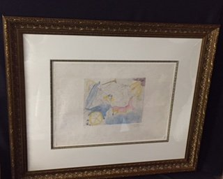 RARE! Dali Signed and Numbered 'Euterpe
