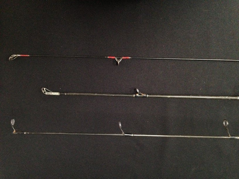 Lot (3) Fishing Rods..See Description. - 6