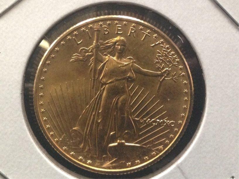 RARE ALERT!!! 1999 1/2 Eagle $25 Gold Coin - 2