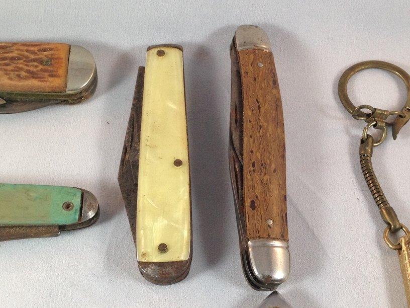 Lot (10) Vintage Pocket Knives. - 6