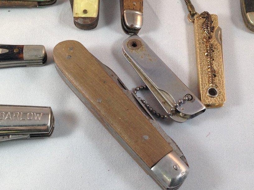 Lot (10) Vintage Pocket Knives. - 7