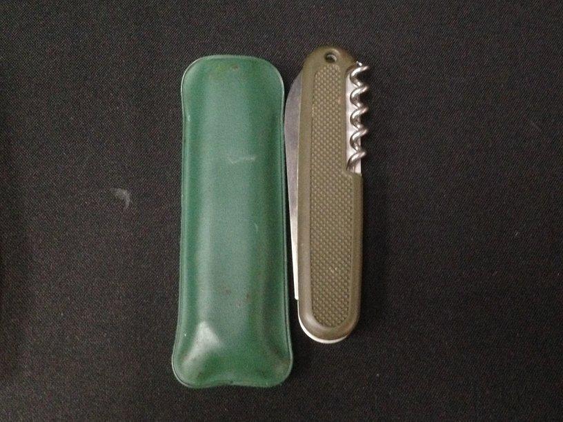 (3) Vintage Folding Knives, Schrade, Victorinox... - 6