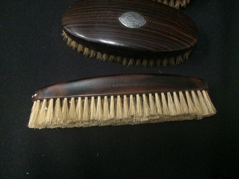 Set (3) ADMIRATION Ebony Grooming Brushes. - 2