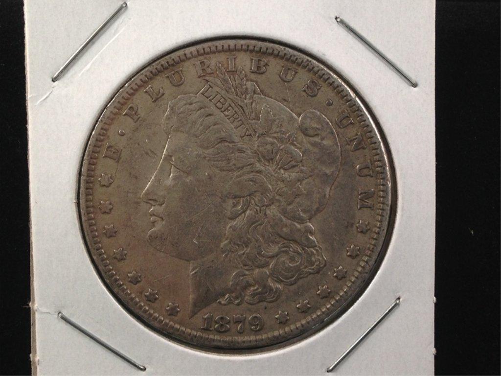 1879 Morgan Silver Dollar 2nd year