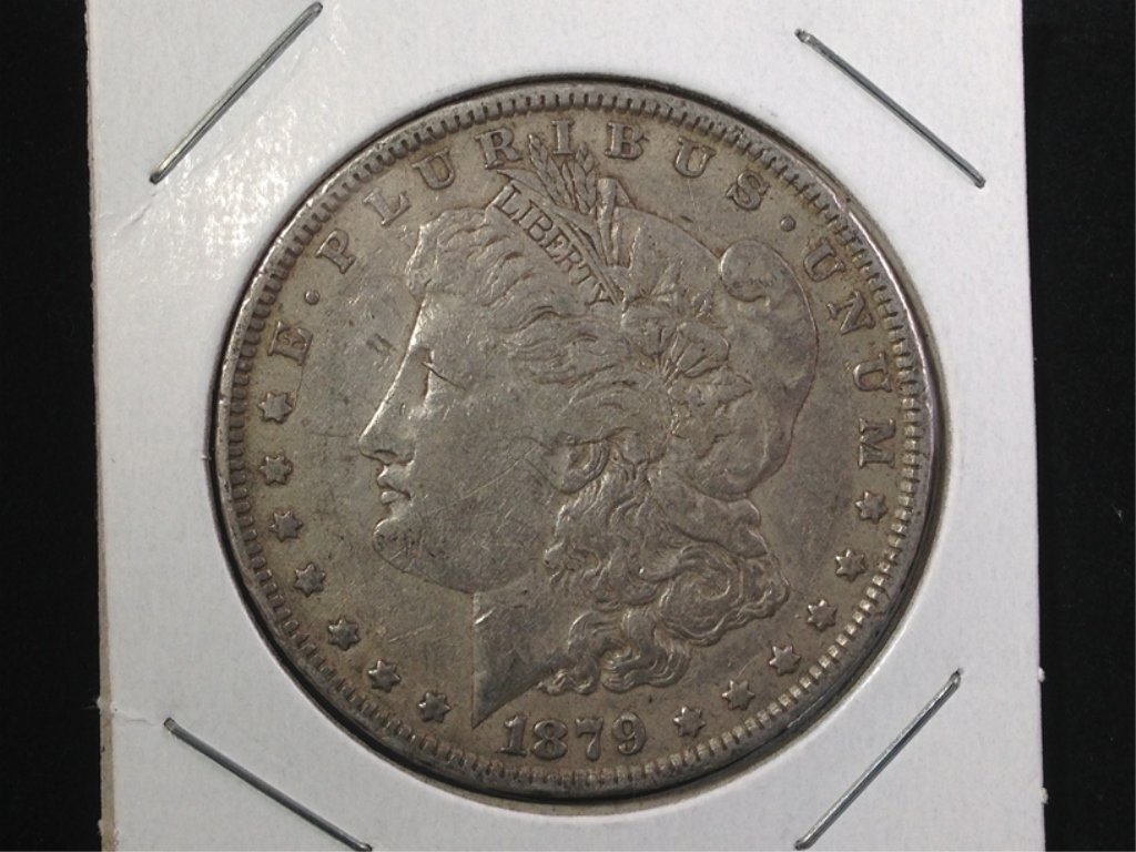 1879 Morgan Silver Dollar 2nd year - 2